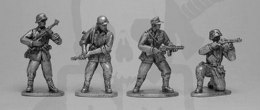Waffen SS grenadiers, mixed weapons
