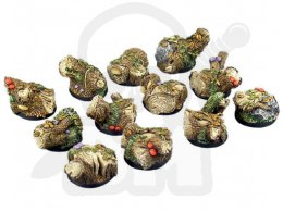 Forest Bases, Round 25mm - 5 pcs