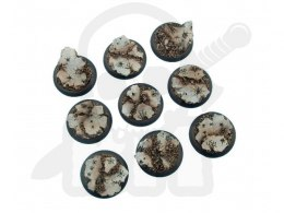 Ruins Bases, WRound 30mm - 5 pcs