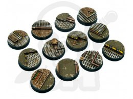 Tech Bases, Round 25mm - 5 pcs
