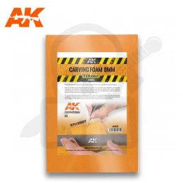 AK Interactive AK8093 Carving Foam 8 Mm A5 Size