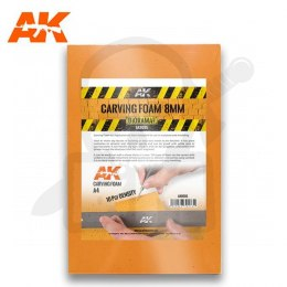 AK Interactive AK8094 Carving Foam 8 Mm A4 Size
