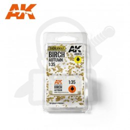 AK Interactive AK8102 Birch Autumn Dry Leaves 1:35