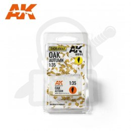 AK Interactive AK8105 Oak Autumn Dry Leaves 1:35