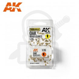 AK Interactive AK8108 Oak Dead Dry Leaves 1:35
