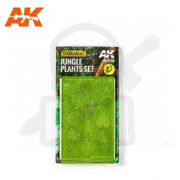 AK Interactive AK8138 Jungle Plants Set 1/32 and 1/35