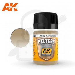 AK Interactive AK065 Afrika Korps Filter 35ml