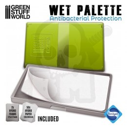 Green Stuff Wet Palette mokra paleta