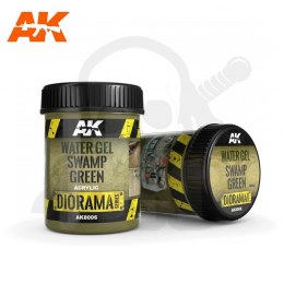 AK Interactive AK8006 Water Gel Swamp Green 250ml