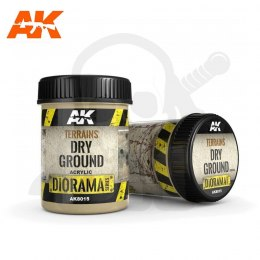 AK Interactive AK8015 Terrains Dry Ground 250ml