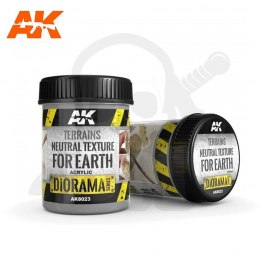 AK Interactive AK8023 Terrains Neutral Texture for Earth 250ml