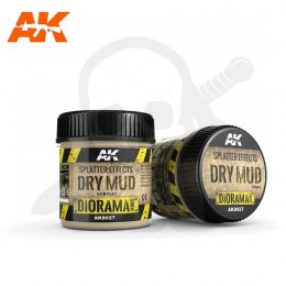 AK Interactive AK8027 Splatter Effects Dry Mud 100ml