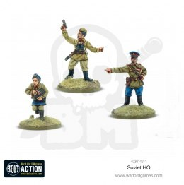 Bolt Action Soviet HQ