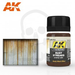 AK Interactive AK013 Rust Streaks 35ml