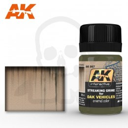 AK Interactive AK067 Streaking Grime for Dak Vehicles 35ml