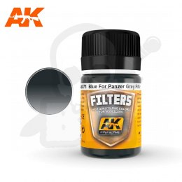 AK Interactive AK071 Blue for Panzer Grey Filter 35ml