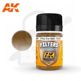 AK Interactive AK076 Filter for Nato Tanks 35ml