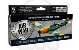 Vallejo 71166 Model Air War Luftwaffe colors pre-war to 1941
