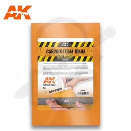 AK Interactive AK8094 Carving Foam 10 Mm A4 Size