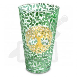 Drinking glass Tree of Life