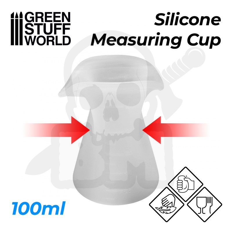 Silicone Measuring Cup 100ml