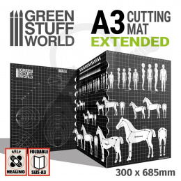 Scale Cutting Mat - A3 Extended