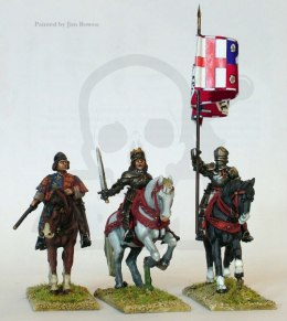 Yorkist mounted high command 3 szt. Wars of the Roses 1455-1487
