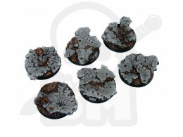 Ruins Bases, Round 40mm - 2 pcs