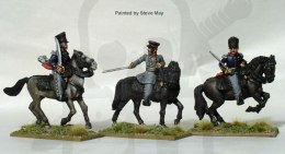 Prussian Mounted field officers - wojny napoleońskie