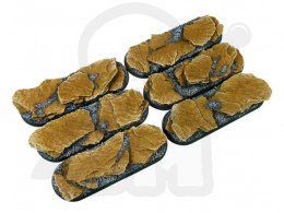 Shale Bases, Bike 25x70mm - 4 pcs