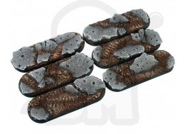 Ruins Bases, Bike 25x70mm - 4 pcs