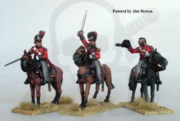Mounted British Colonels - wojny napoleońskie